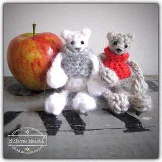 Crochet winter bears Helena Haakt