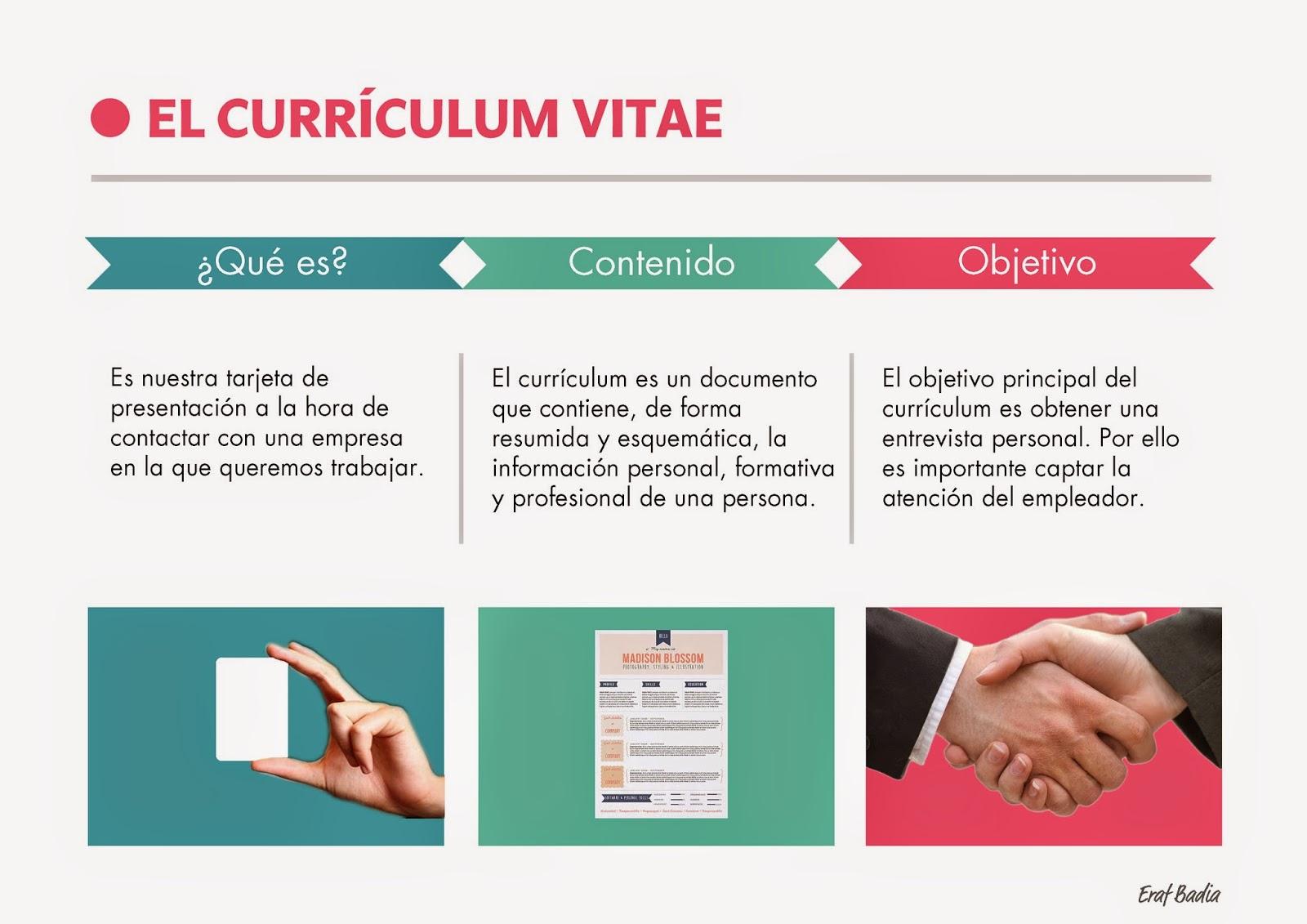 emplearse.org: Plantilla currículum vitae y claves para su buena ...