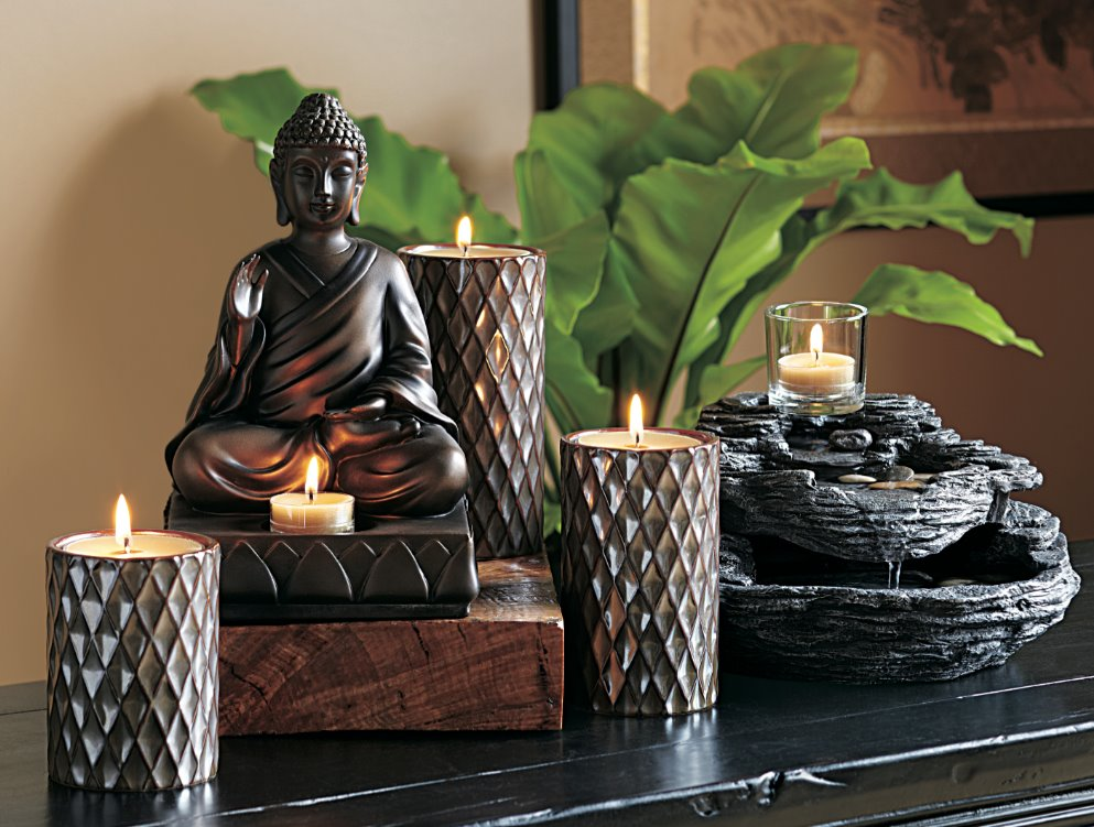 The little things in life partylite 2012 zen collection for Room decoration products