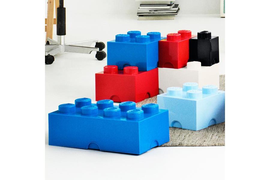 Pin lego boites on pinterest - Tete de rangement lego ...