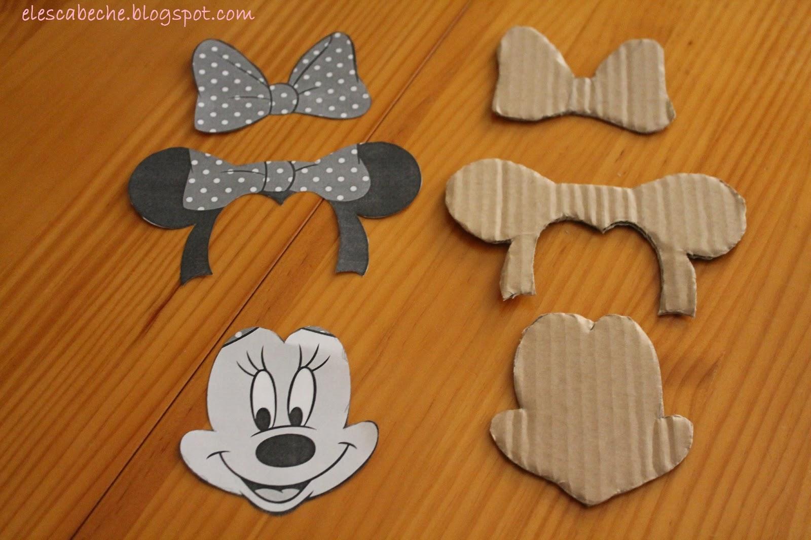 Cara De Minnie Mouse Molde's Para Imprimir