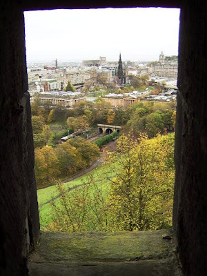 From the Castle of Eninburgh - Scotland - UK