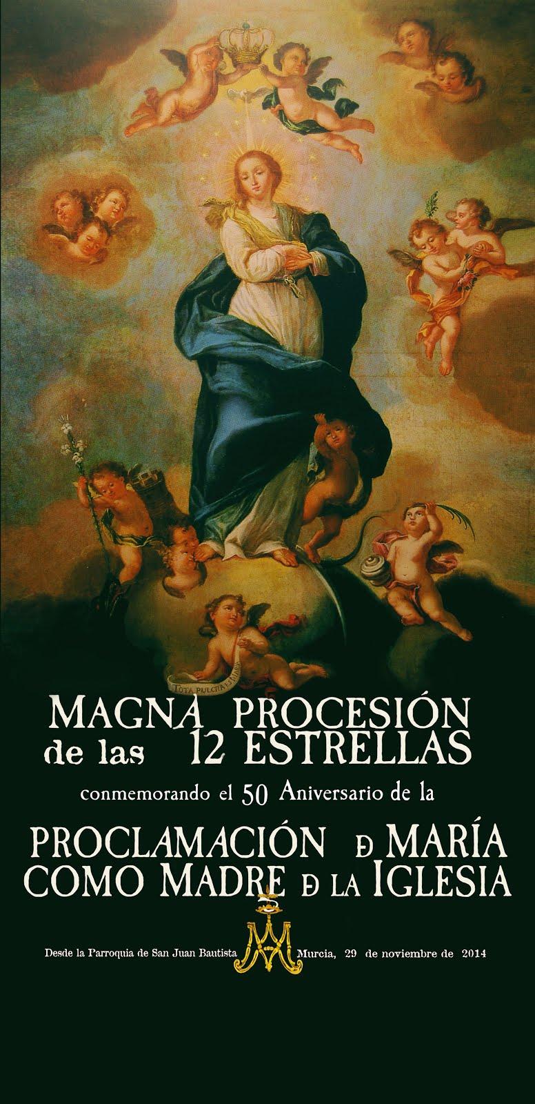 DVD MAGNA PROCESIÓN 12 ESTRELLAS