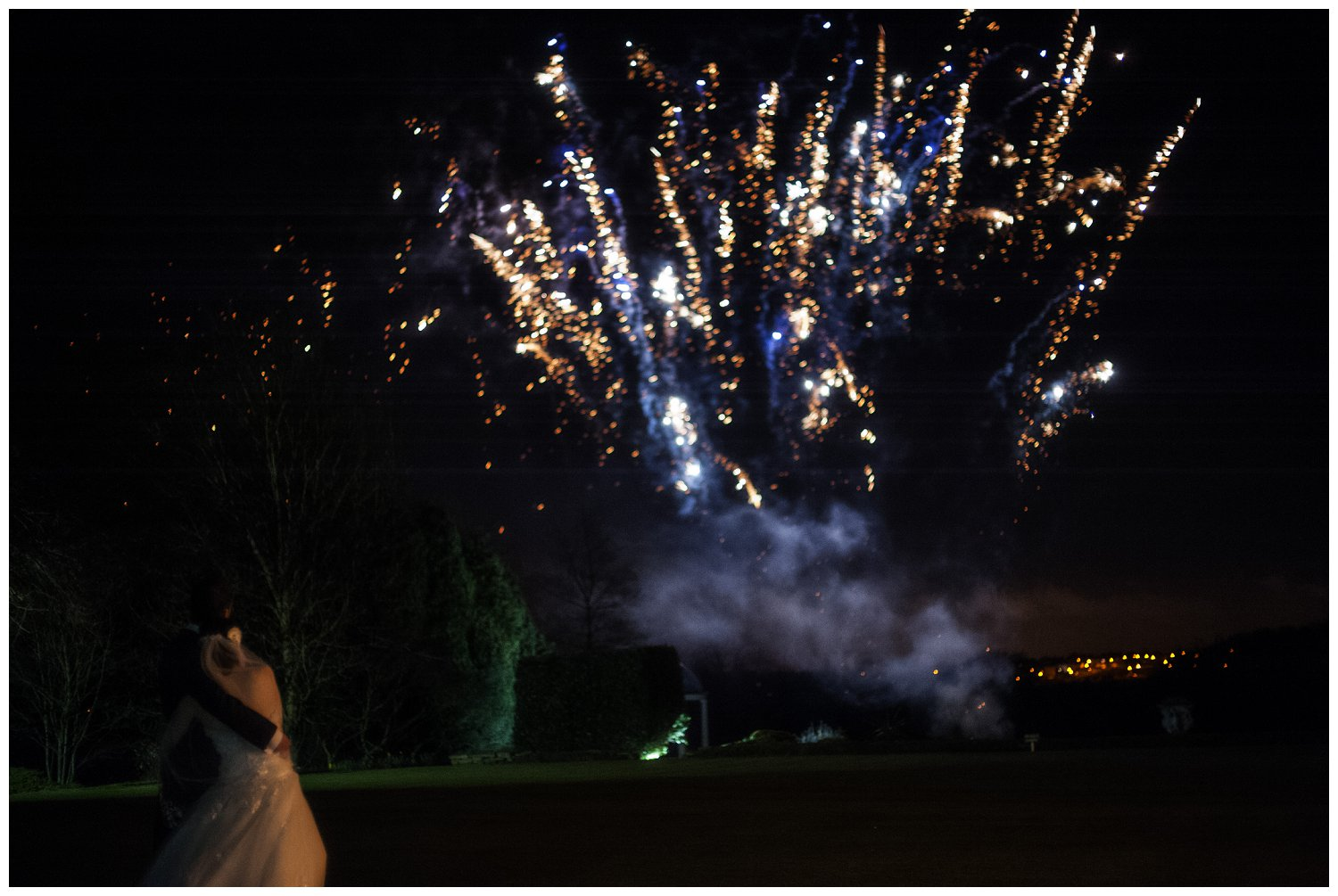 Ringwood Hall Hotel, Wedding, Fireworks