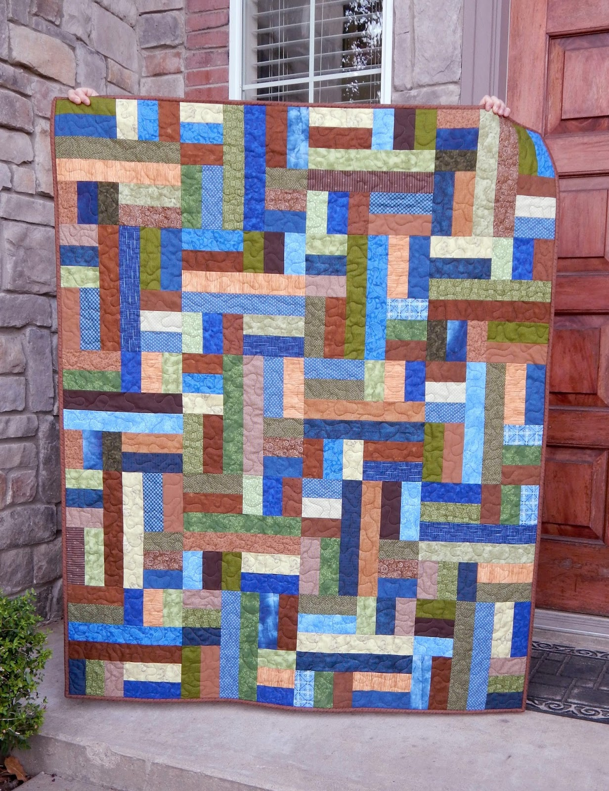 The Fleming's Nine: Scrappy Patches Quilt Pattern - 2 Ways! : bright colored quilt patterns - Adamdwight.com