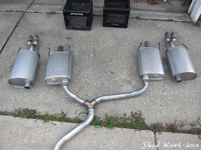 2005 pontiac grand prix gtp mufflers, exhaust, pipe, weld
