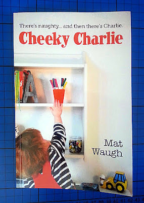 Cheeky Charlie Book Review - hilarious chapter book for 6+
