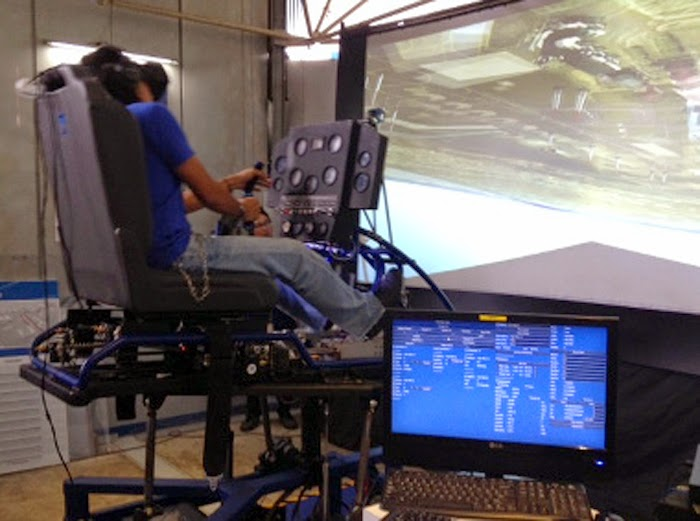 Simulator Buatan PT Technology and Engineering Simulation (TES)