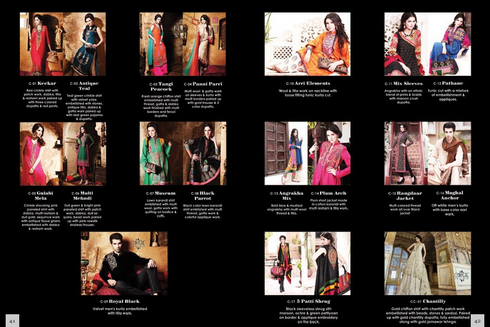 Fashion Dresses 2012-2013 | Chinyere Winter Dress Designs in Pakistan