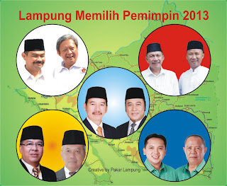 Calon Gubernur Lampung 2013
