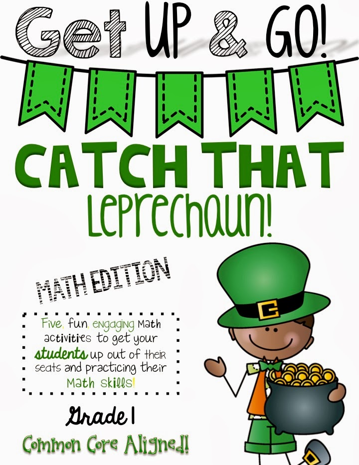 http://www.teacherspayteachers.com/Product/Get-Up-Go-Math-Activities-Leprechaun-Themed-1135689