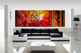 "ORIGINAL ABSTRACT PAINTING ""DIMENSION OF DREAMS"""