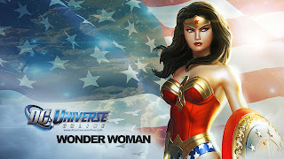 Wonder Woman in DC Universe Online Game