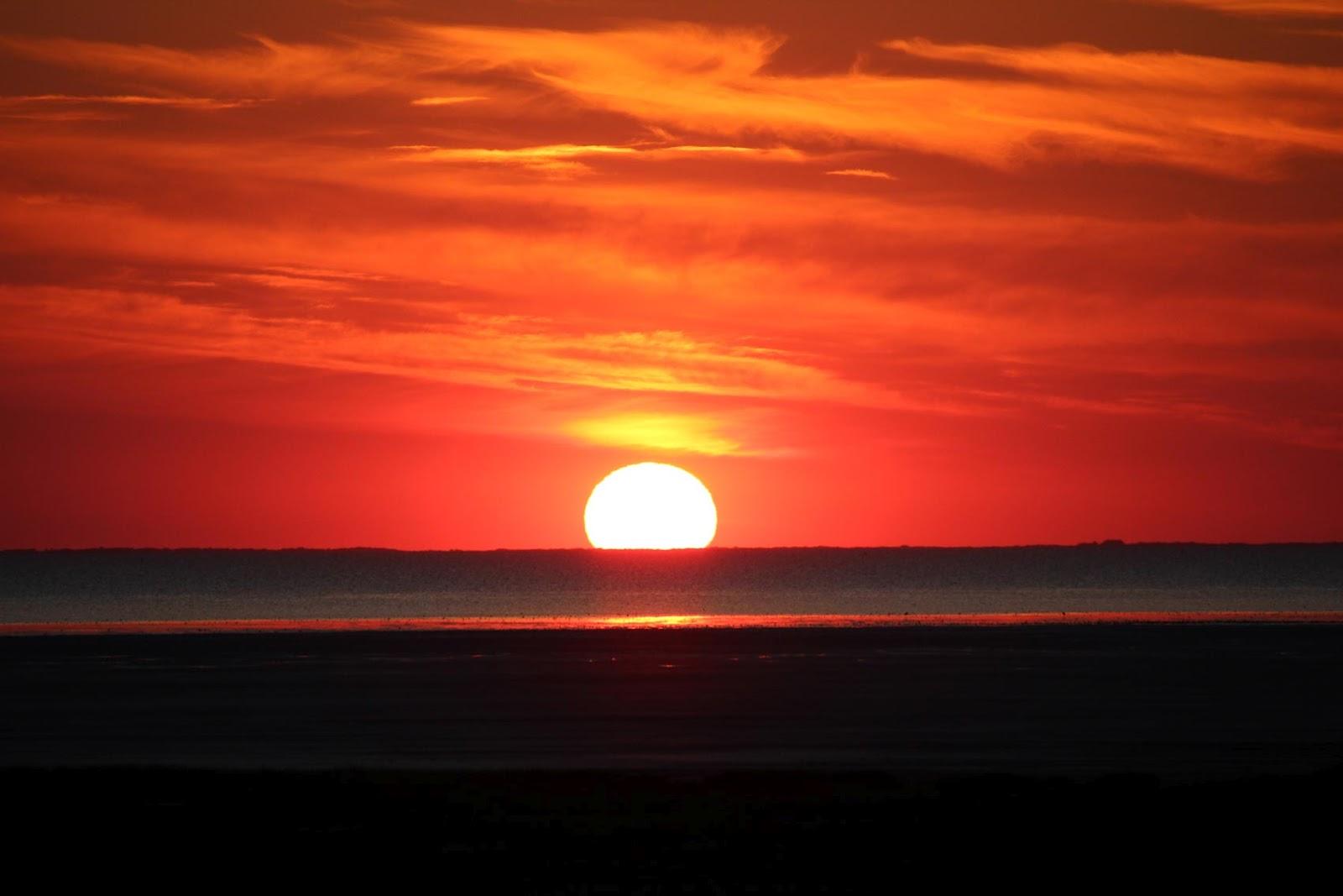 Eppelblog Sonnenuntergang 252 Ber Ostfriesland