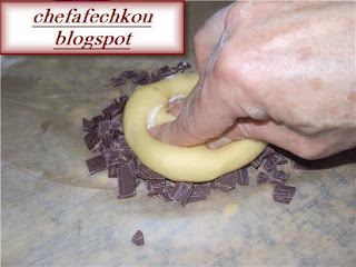 Brioches au pepittes du chocolat