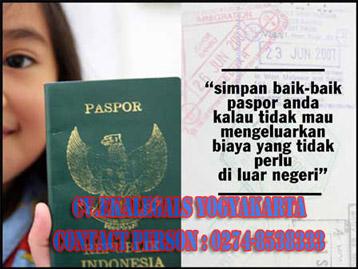Pengurusan Paspor Jogja
