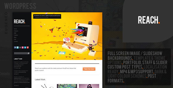 Reach Wordpress Theme Free Download.