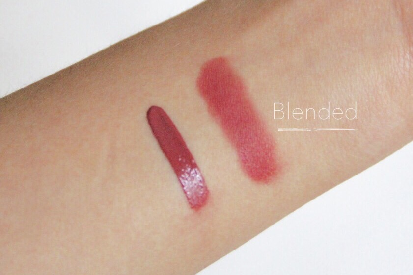 Giorgio Armani Lip Maestro 501 Casual Pink review swatch
