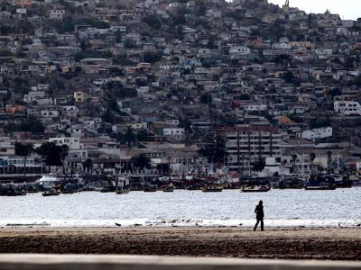 Barrio sobre el cerro de Coquimbo