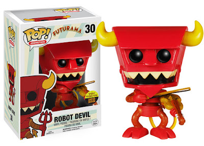 San Diego Comic-Con 2015 Exclusive Futurama Robot Devil with Violin Pop! Animation Vinyl Figure by Funko