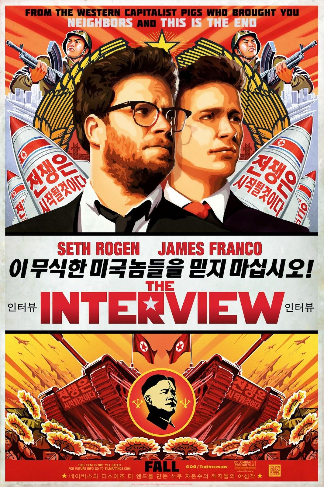 the interview, ataque, sony, censura, estreno, seth rogen, james franco, sony, corea norte, el zorro con gafas
