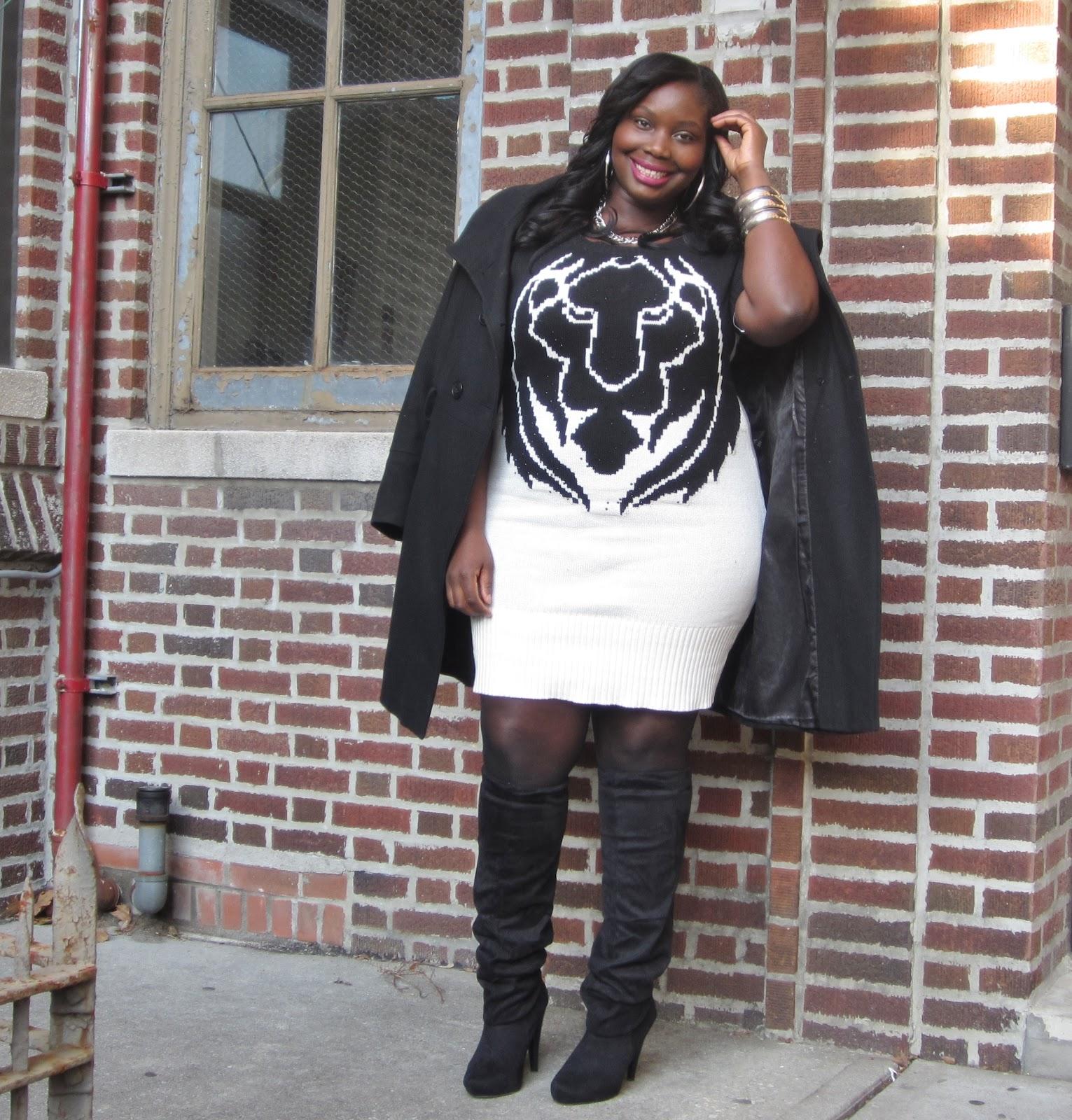 Style Journey The Sweater Dress Stylish Curves