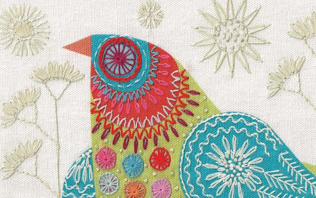 BLUEBIRD CUSHION Detail