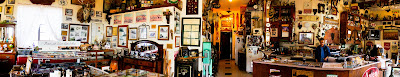Eclectic shop panoramic