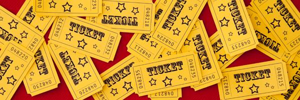 tickets de cirque vintage faits maison