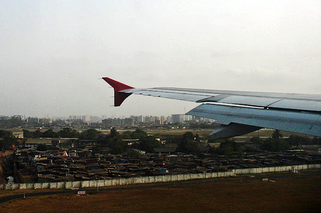 slums next to airport