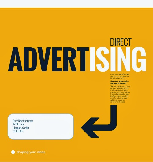 Direct Advertising – Communicate effectively with your customers via Direct Advertising.  Not sure what works for your business?  We can guide you to your target audience through a wide variety of ways, mediums and campaigns that include catalogues, leaflets, press, emailers, social media, signage, exhibition material  and so much more.