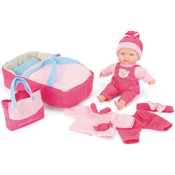 Snuggles Baby Toy Doll With Interactive Sounds