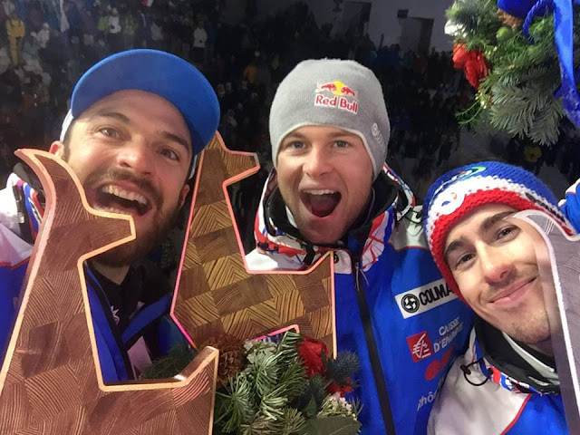 Clean Sweep for France at Hahnenkamm Combined