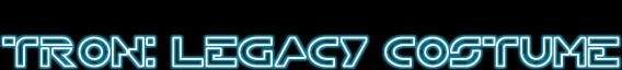 Tron: Legacy Costume