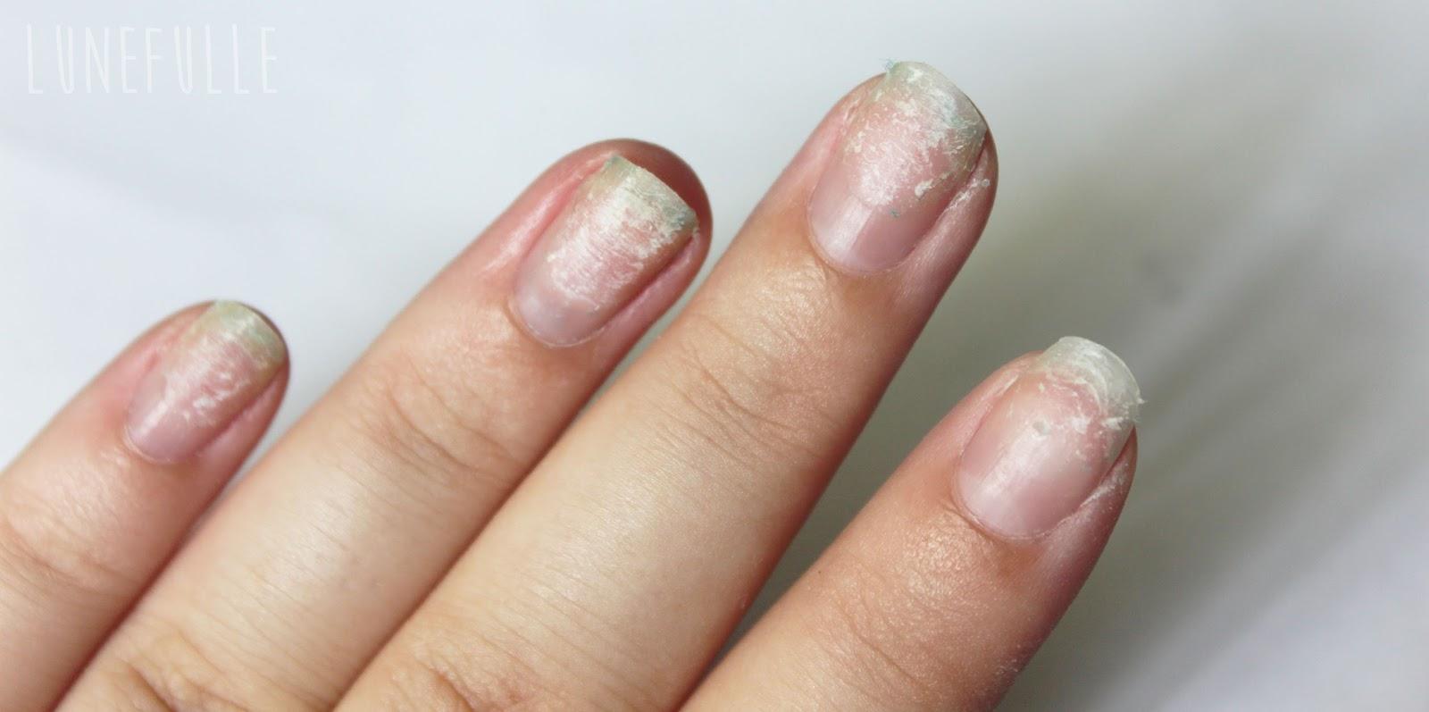 Lunefulle le blog ongles en gel mon exp rience mon avis - Ongle gel beige ...