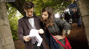 3rd Official Image of Matt Smith and JennaLouise Coleman (wallpaper )