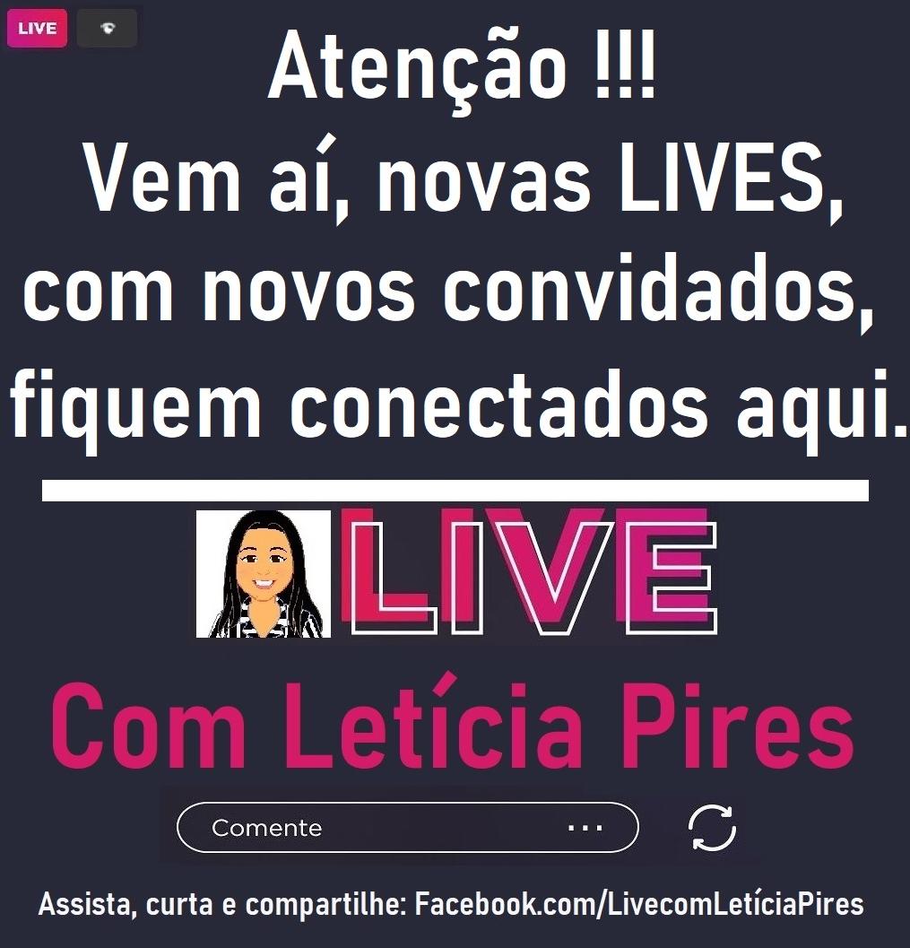 LIVE com Letícia Pires