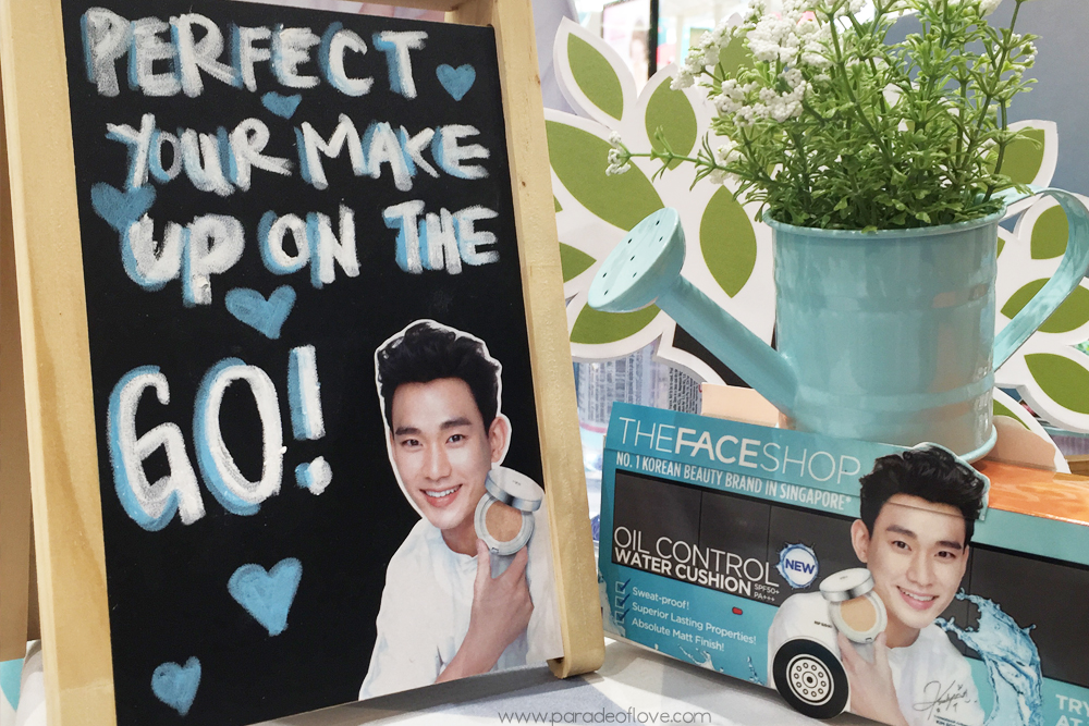 Makeup on the go with THEFACESHOP