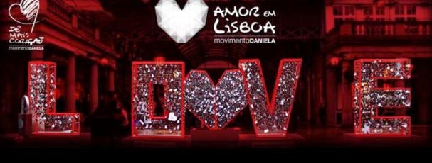 """Iniciativa """"Amor em Lisboa""""  Dia 14 de Fevereiro dia dos Namorados"""