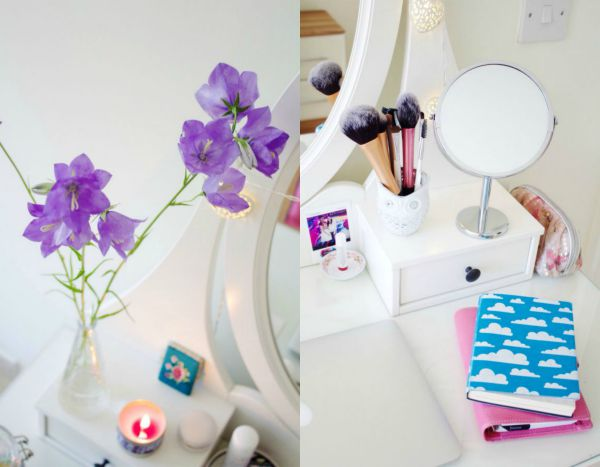 Dressing table styling