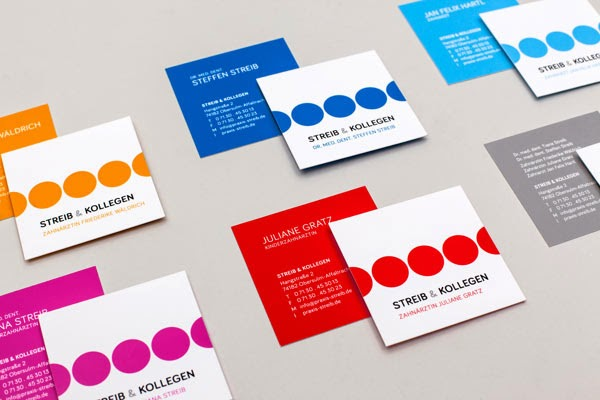 25 Square Business Card Designs to Get Inspired - Jayce-o-Yesta