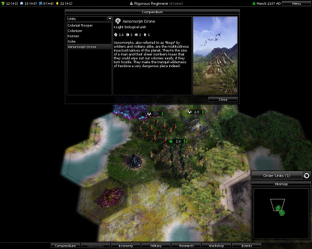 Pandora: First Contact - Alien Natives Screenshot