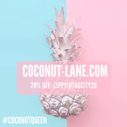 20% off your Coconut Lane goodies