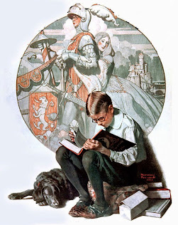 LECTURA (Norman Rockwell. Boy reading)