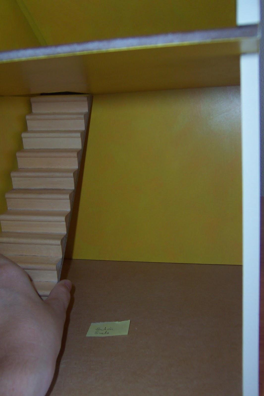 Cositas de casitas escalera de caracol for Como hacer una escalera en caracol