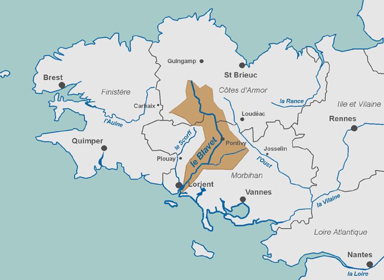 Le canal du blavet en famille 70 km v lo for Se balader dans les yvelines