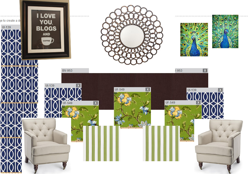 bonus room design board | Life On Virginia Street
