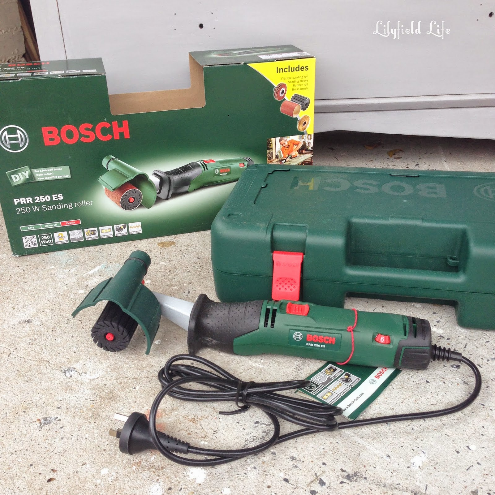 lilyfield life bosch prr 250w sanding roller review. Black Bedroom Furniture Sets. Home Design Ideas