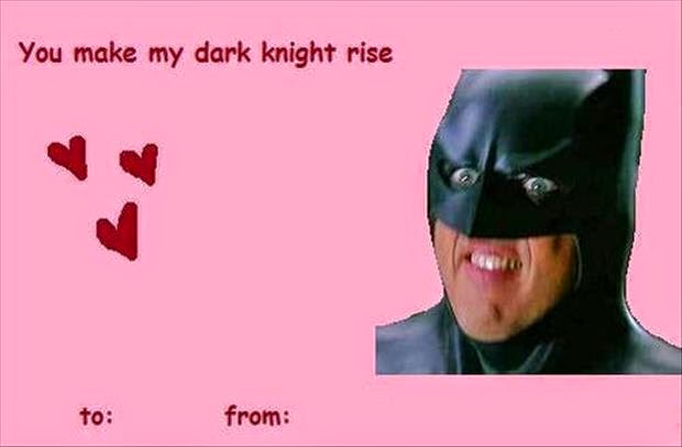 Funny Valentines Day Cards 2016 – Batman Valentines Day Card