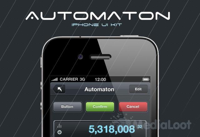 Automaton iPhone UI Kit
